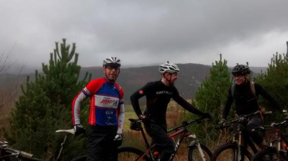 Riding with friends - joining Dave, Matt and Chris on their Welsh epic