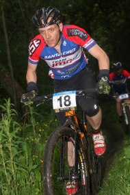 Singlespeeding the local XC race