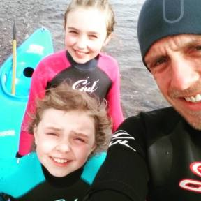 Mull of Galloway wetsuit squadron