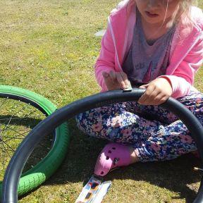 Eleanor learning essential life skills