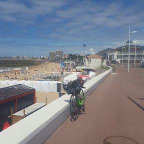 Halfway across France - somewhere on the Atlantic Coast
